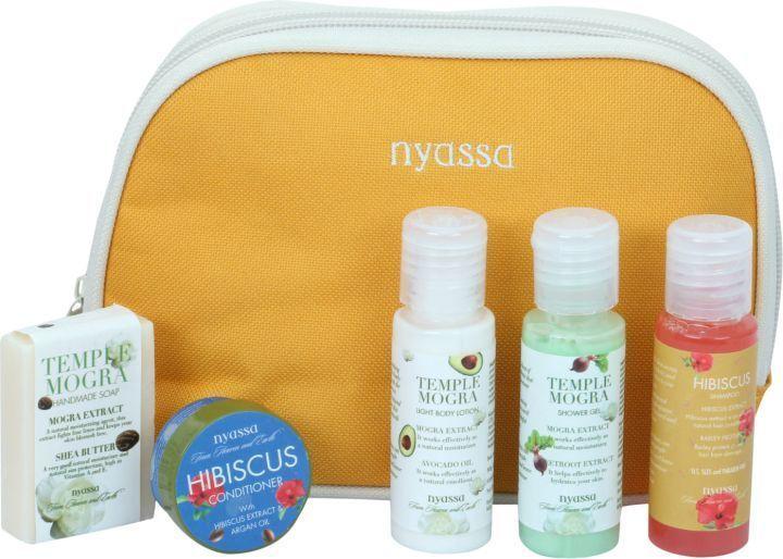Nyassa Temple Mogra Travel Kit, 125Gm