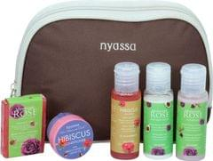 Nyassa Moroccan Rose Travel Kit, 125Gm