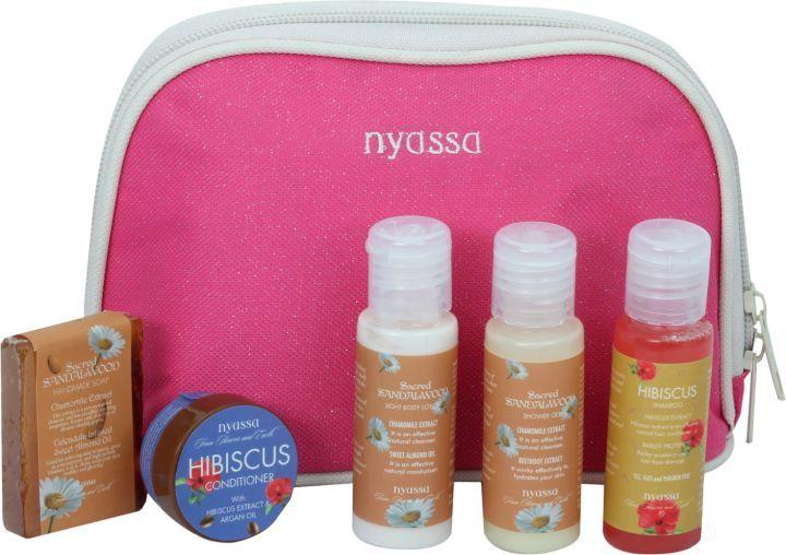Nyassa Sacred Sandalwood Travel Kit, 125Gm