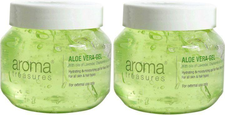Aroma Treasures Aloe Vera Gel - Set of 2
