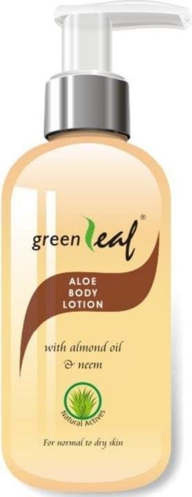 Green Leaf Aloe Body Lotion (Pack of 3)