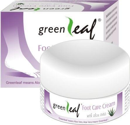 Green Leaf Foot Care Cream (Pack of 6)