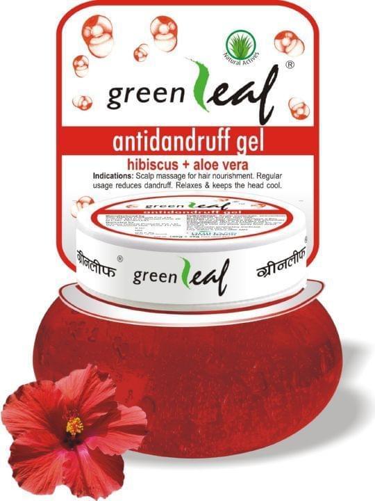 Green Leaf Anti Dandruff Gel, 500Gm (Pack of 3)