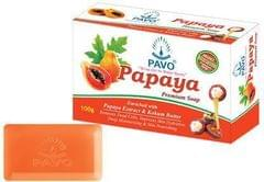 Pavo Papaya Soap (Pack Of 4)