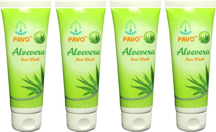 Pavo Aloe Vera Face Wash (Set Of 4)