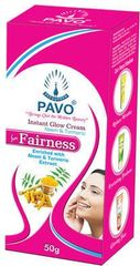 Pavo Neem & Turmeric Instant Glow Fairness Cream (Pack Of 6)