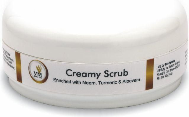VM Cosmocare Creamy Scrub, 250gm