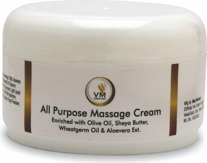 VM Cosmocare All Purpose Massage Cream, 500gm