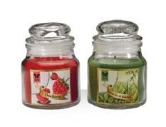 Iris Aroma Candle-Greentea & Bamboo (Pack of 3)