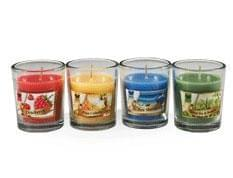 Iris Aroma Candle-Dewberry (Pack of 6)