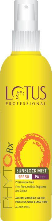 Lotus Professional Phyto-Rx Sunblock Mist SPF 50, 100 ml