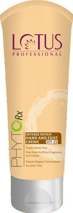 Lotus Professional Phyto-Rx Intense Repair Hand & Foot Creme SPF 25 (Pack of 2)