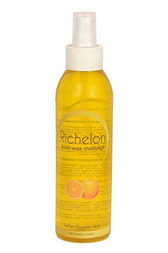 Richelon Orange Post-wax Massage Oil, 250ml