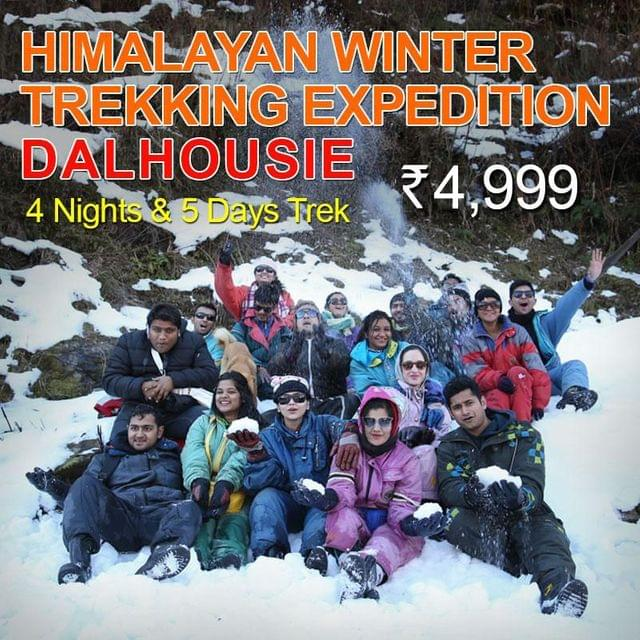Dalhousie Winter Trekking