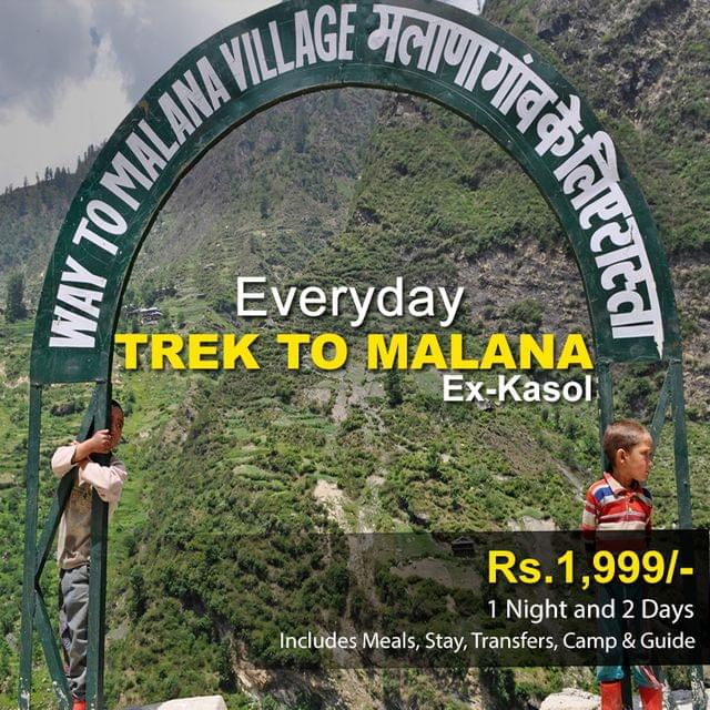 Trek to Malana - 1 Night & 2 Days