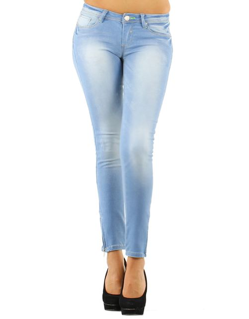London Looks Skinny Tight Jeans