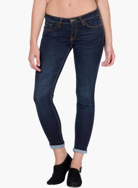 London Looks Denim Washed Jeans