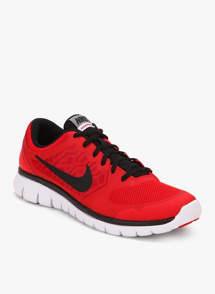 Nike Flex 2015 Rn (Gs) Red Running Shoes