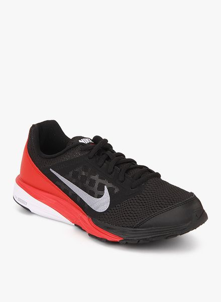 Nike Tri Fusion Run (Gs) Black Running Shoes