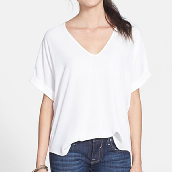 London Looks Girls V- Neck Top