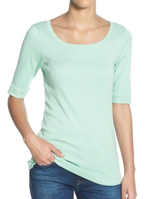 London Looks Round Neck Top