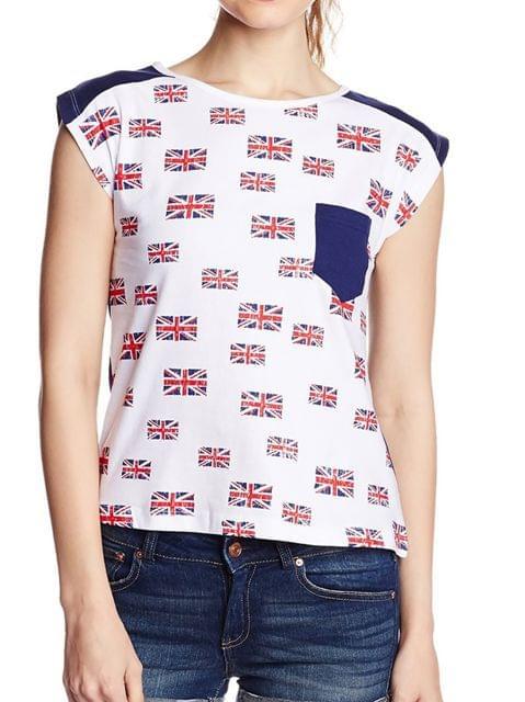 London Looks Women's Printed T-Shirt