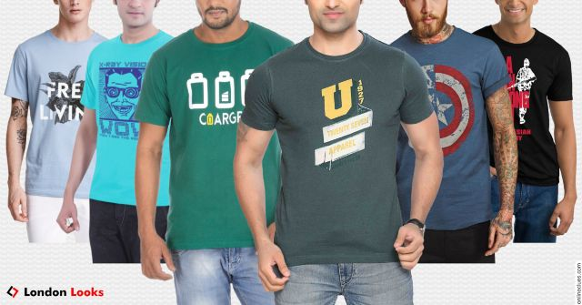 London Looks Special OFFER of 6 T-Shirts
