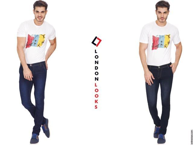 London Looks Set of 2 Jeans @899 Only!