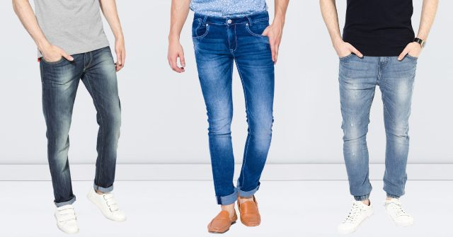 London Looks Mid Rise Slim Fit Denim Jeans (Pack Of 3)