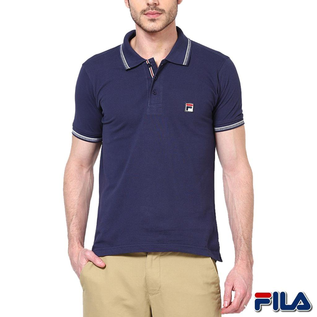 FILA Men's Blue Polo T-shirt ! 30% Discount!
