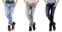London Looks Denim Slim Fit Jeans (Pack Of 3)