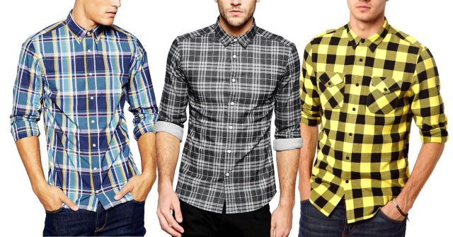London Looks Checkered Shirts (Pack Of 3)