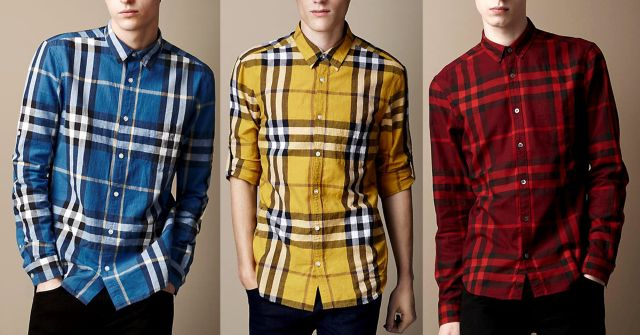 LONDON LOOKS Original Check Shirts (Set Of 3)