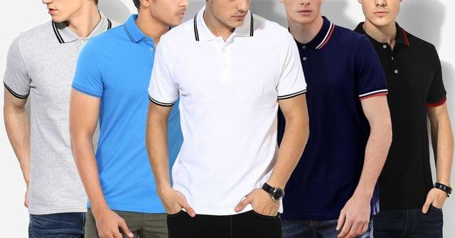 LONDON LOOKS POLO T-Shirts (Set Of 5)