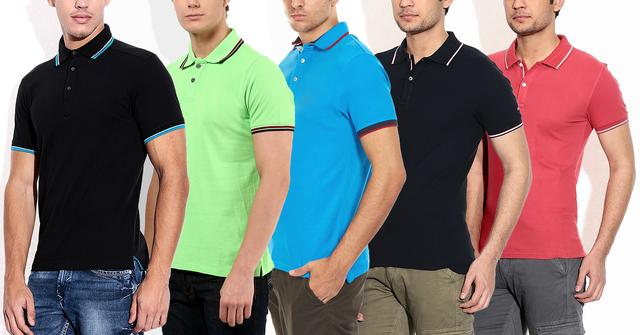 London Looks 5 Polo T-shirts !