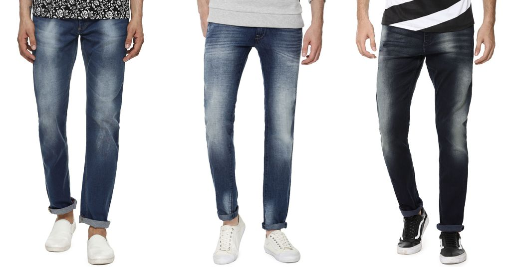 London Looks 3 Mid Rise Slim Fit Denim Jeans !