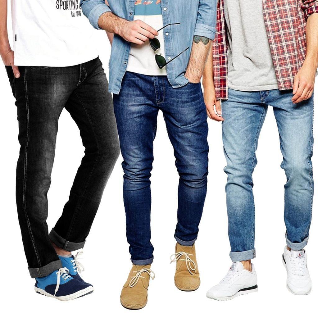 London Looks 3 Blended Denim Jeans Combo!