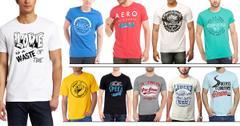 London Looks Set Of 10 Printed T-Shirts !