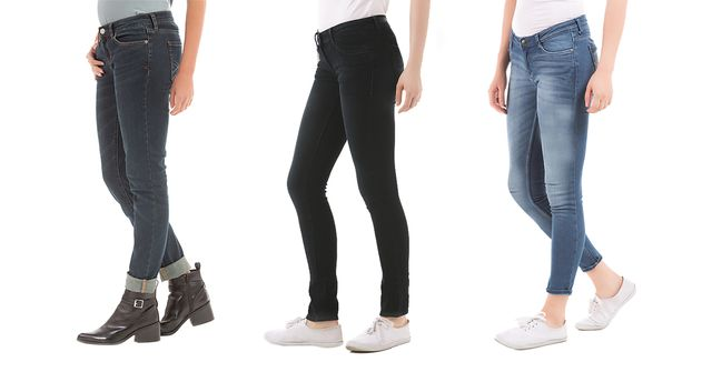 London Looks Women's 3 Slim-Fit Denim Jeans!