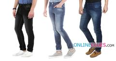 London Looks Men's 3  Denim Standard-Fit Jeans !