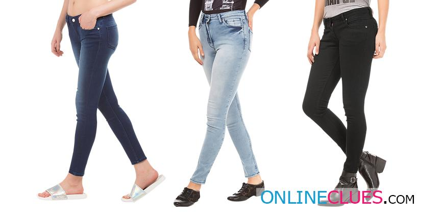 London Looks Women's 3 Slim-Fit Mid RIse Denim Jeans