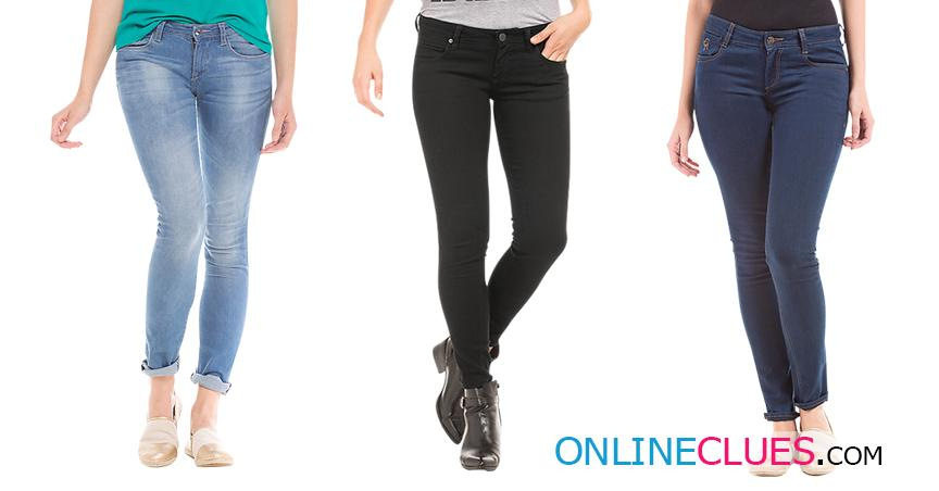London Looks Women's 3 Skinny-Fit Mid RIse Denim Jeans