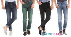 London Looks Brand Men's 4 Combo of Slim-Fit Denim Jeans