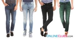 London Looks Brand Men's 4 Combo of Standard-Fit Denim Jeans