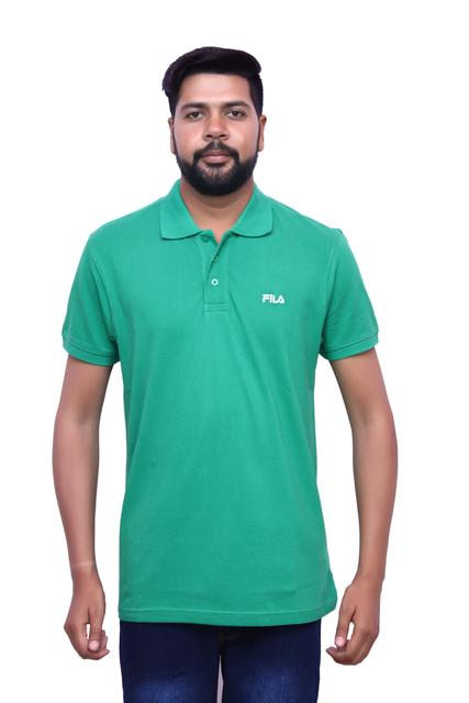FILA Men's Green Half Sleeve T-shirt!