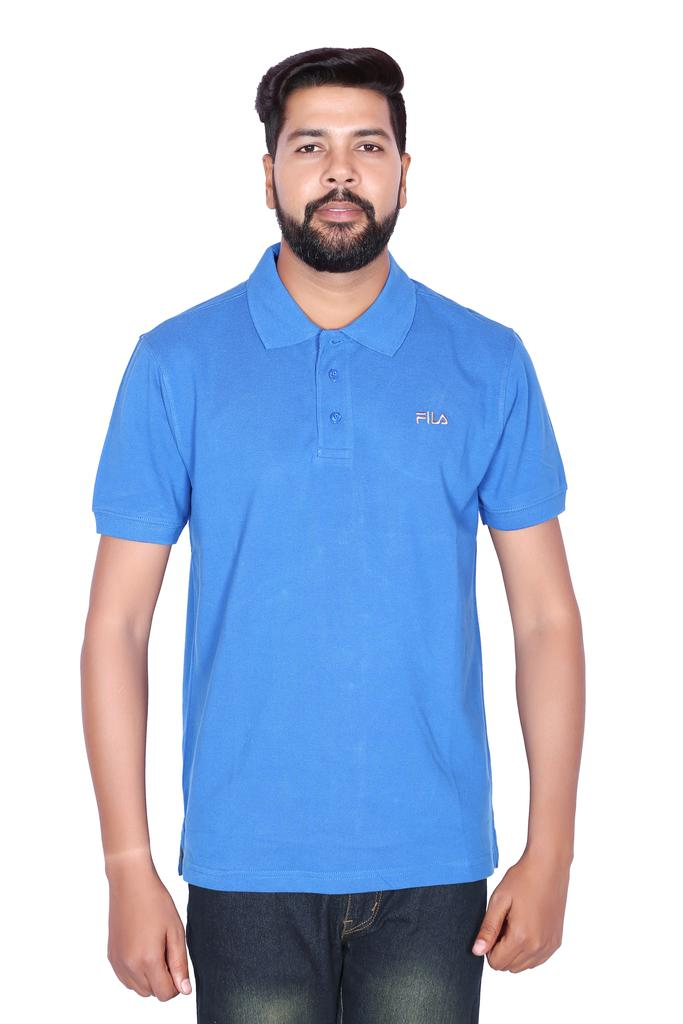 FILA Men's Blue Half Sleeve T-shirt!