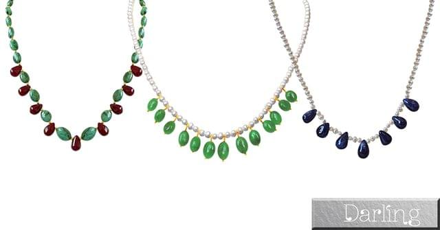 Darling Brand 3 Stylish Necklace Sets !