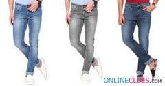 Buy Combo Of 3 London Looks Branded Mid-Rise  Slim-Fit Denim Jeans!