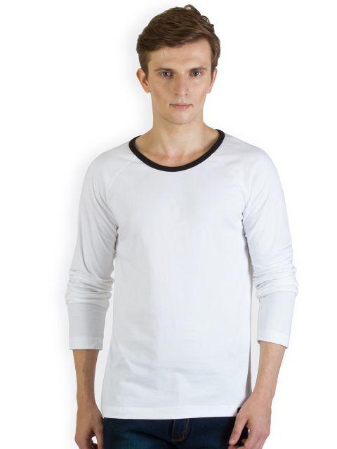 RIGO White Raglan Slim T shirt