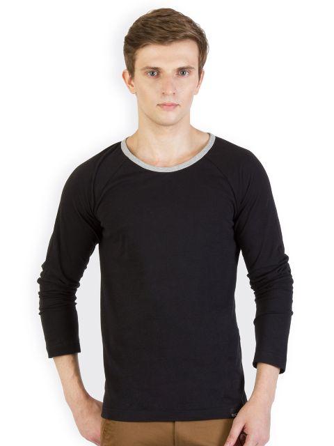 RIGO Black Raglan Slim T shirt